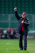 Trabzonspor's trainer coach Mustafa Akcay during the UEFA Europa League Group J football match between Legia Warsaw and Trabzonspor AS at Pepsi Arena Stadium in Warsaw on November 07, 2013.<br /> <br /> Poland, Warsaw, November 07, 2013<br /> <br /> Picture also available in RAW (NEF) or TIFF format on special request.<br /> <br /> For editorial use only. Any commercial or promotional use requires permission.<br /> <br /> Mandatory credit:<br /> Photo by &copy; Adam Nurkiewicz / Mediasport