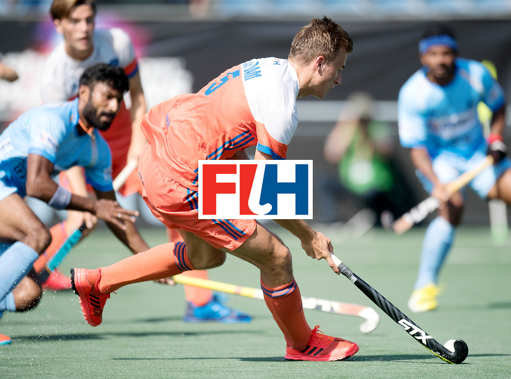 BREDA - Rabobank Hockey Champions Trophy<br /> The Netherlands - India<br /> Photo: Thijs van Dam.<br /> COPYRIGHT WORLDSPORTPICS FRANK UIJLENBROEK