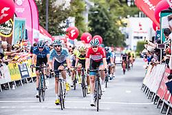 11.07.2019, Kitzbühel, AUT, Ö-Tour, Österreich Radrundfahrt, 5. Etappe, von Radstadt nach Fuscher Törl (103,5 km), im Bild Gesamtführender Ben Hermans (Israel Cycling Academy, BEL) // overall leader Ben Hermans (Israel Cycling Academy, BEL) during 5th stage from Bruck an der Glocknerstraße to Kitzbühel (161,9 km) of the 2019 Tour of Austria. Kitzbühel, Austria on 2019/07/11. EXPA Pictures © 2019, PhotoCredit: EXPA/ JFK