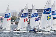 2016 Olympic Sailing Games-Rio-Brazil, ANP Copyright Olympische Spelen Zeilen, ls-SWE- Jesper Stalheim- Laser Standaard