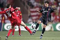 Fotball<br /> Foto: Dppi/Digitalsport<br /> NORWAY ONLY<br /> <br /> UEFA SUPER CUP 2005<br /> <br /> LIVERPOOL FC v CSKA MOSKVA<br /> <br /> 26/08/2005<br /> <br /> DANIEL CARVALHO (CSKA) / DIETMAR HAMANN (LIV)