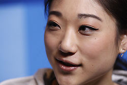 February 18, 2018 - Pyeongchang, KOREA - United States figure skater Marai Nagasu at press conference during the Pyeongchang 2018 Olympic Winter Games. (Credit Image: © David McIntyre via ZUMA Wire)