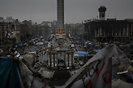 View of Maidan, Independance Square in Kiev, on 06 March 2014.