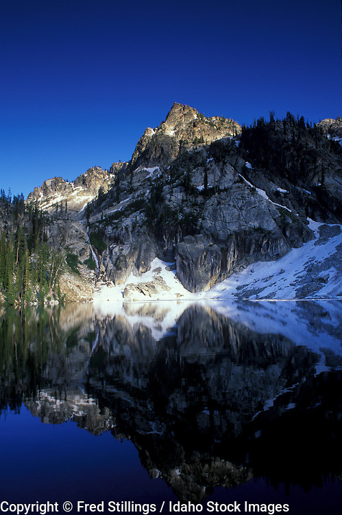 Idaho, Sawtooth Wilderness, Trailcreek Lake