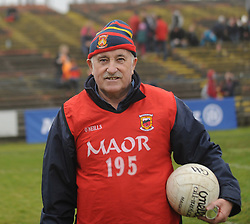 Willie Kelly from Kilmeena at McHale park for the Mayo v Kerry national football league encounter. Pic Conor McKeown