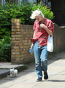 28.JUNE.2012. LONDON<br /> <br /> PIXIE GELDOF WALKING HER DOG IN HIGHBURY, NORTH LONDON WITH NO MAKE-UP ON AND LOOKING VERY SCRUFFY.<br /> <br /> BYLINE: EDBIMAGEARCHIVE.CO.UK<br /> <br /> *THIS IMAGE IS STRICTLY FOR UK NEWSPAPERS AND MAGAZINES ONLY*<br /> *FOR WORLD WIDE SALES AND WEB USE PLEASE CONTACT EDBIMAGEARCHIVE - 0208 954 5968*