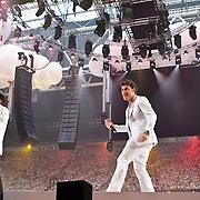 NLD/Amsterdam/20100522 - Concert Toppers 2010, optreden Gerard Joling en Jeroen van der Boom
