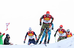 17.12.2016, Nordische Arena, Ramsau, AUT, FIS Weltcup Nordische Kombination, Langlauf, im Bild Bjoern Kircheisen (GER) // Bjoern Kircheisen of Germany during Cross Country Competition of FIS Nordic Combined World Cup, at the Nordic Arena in Ramsau, Austria on 2016/12/17. EXPA Pictures © 2016, PhotoCredit: EXPA/ Martin Huber
