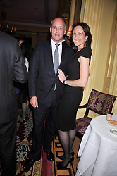 SIR HARRY & LADY NUTTALL at a reception to launch Films Without Borders held The Lanesborough Hotel, London on 8th October 2009.