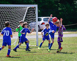 03 May 2014. Emerald Coast Cup, Niceville, Florida. <br /> U9 Jesters v Gulf Coast United. 1-1 final score.<br /> Photo; Charlie Varley/varleypix.com