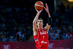 Vladimir Lucic of Serbia during the Final basketball match between National Teams  Slovenia and Serbia at Day 18 of the FIBA EuroBasket 2017 at Sinan Erdem Dome in Istanbul, Turkey on September 17, 2017. Photo by Vid Ponikvar / Sportida