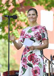June 6, 2017 - JäRfäLla, Sweden - Crown princess Victoria..National Day celebrations, Görvälns slott, Järfälla, 2017-06-06..(c) Karin Törnblom / IBL....Nationaldagen firas, Görvälns slott, Järfälla, 2017-06-06 ..National Day celebrations, Görvälns slott, Järfälla, 2017-06-06..(c) Karin Törnblom / IBL....Nationaldagen firas, Görvälns slott, Järfälla, 2017-06-06 (Credit Image: © Karin TöRnblom/IBL via ZUMA Press)