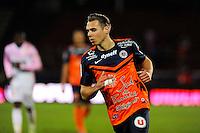 Kevin BERIGAUD - 21.03.2015 - Evian Thonon / Montpellier - 30eme journee de Ligue 1 -<br />Photo : Jean Paul Thomas / Icon Sport