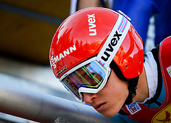 17.12.2016, Nordische Arena, Ramsau, AUT, FIS Weltcup Nordische Kombination, Skisprung, im Bild Manuel Faisst (GER) // Manuel Faisst of Germany during Skijumping Competition of FIS Nordic Combined World Cup, at the Nordic Arena in Ramsau, Austria on 2016/12/17. EXPA Pictures © 2016, PhotoCredit: EXPA/ Martin Huber