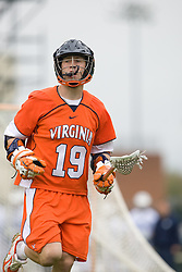 05 April 2008: Virginia Cavaliers attackman Garrett Billings (19) during a 11-12 OT win over the North Carolina Tar Heels on Fetzer Field in Chapel Hill, NC.