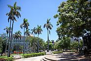 Parque de la Fraternidad, Havana Vieja, Cuba.