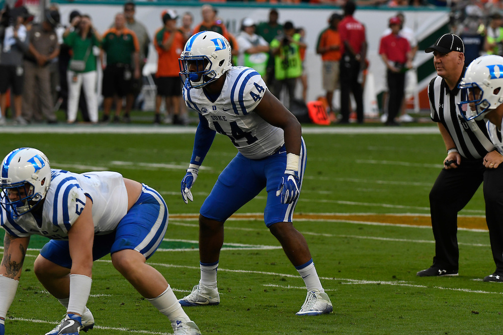 2016 Duke Blue Devils Football @ Miami