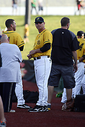 18 May 2012:  Cornbelters Manager Chad Parker during a Frontier League Baseball game between the Windy City Thunderbolts and the Normal CornBelters at Corn Crib Stadium on the campus of Heartland Community College in Normal Illinois