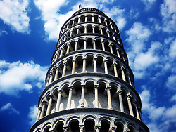 Leaning tower in Pisa, Tuscany, Italy. 2nd July, 2011..©Pic : Michael Schofield.