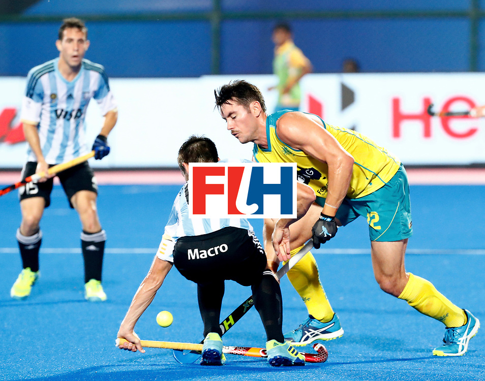 Odisha Men's Hockey World League Final Bhubaneswar 2017<br /> Match id:22<br /> Argentina v Australia<br /> Foto: Matias Paredes (Arg) <br /> WORLDSPORTPICS COPYRIGHT KOEN SUYK