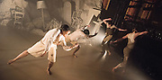 Hubert Essakow's Terra has its World Premiere on 23 February and runs until 12 March. It will be the first dance performance in the main auditorium of the Print Room's new home, the Coronet in Notting Hill. Essakow sends his dancers on a journey through the shifting horizons and changing seasons of an increasingly unpredictable earth.  The set designs by Belgian visual artists Sofie Lachaert and Luc d'Hanis evoke a bleak landscape of sand and rock. Picture features dancers Rob Bridger, Luke Crook, Monique Jonas, and Benjamin Warbis.
