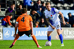 James Clarke of Bristol Rovers is marked by Callum Reynolds of Barnet  - Mandatory by-line: Ryan Hiscott/JMP - 11/11/2018 - FOOTBALL - The Hive - Barnet, England - Barnet v Bristol Rovers - Emirates FA Cup first round proper