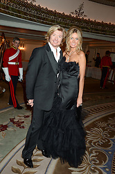 NICKY CLARKE and KELLY SIMPKIN at Fashion For The Brave at The Dorchester, Park Lane, London on 8th November 2013.