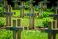 French WW1 Military Cemetary at Lachalade in a forest near Verdun, France<br /> <br /> (c) Andrew Wilson   Edinburgh Elite media