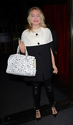 Poppy Jamie attends Xperia Z3 Launch Party as Sony celebrates the launch of its new Xperia Z3 smartphone at Aqua Nueva, 30 Argyll Street, London W18 on Thursday 25th September 2014