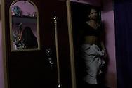 Sebnam (R) lives with Simram (L) in a small apartment in Varanasi, India.