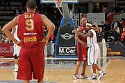 DESCRIZIONE : Caserta Lega A 2011-12 Otto Caserta Umana Venezia<br /> GIOCATORE : Alvin Young Andre Collins<br /> SQUADRA : Umana Venezia Otto Caserta<br /> EVENTO : Campionato Lega A 2011-2012<br /> GARA : Otto Caserta Umana Venezia<br /> DATA : 25/04/2012<br /> CATEGORIA : fair play<br /> SPORT : Pallacanestro<br /> AUTORE : Agenzia Ciamillo-Castoria/A.De Lise<br /> Galleria : Lega Basket A 2011-2012<br /> Fotonotizia : Caserta Lega A 2011-12 Otto Caserta Umana Venezia<br /> Predefinita :