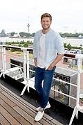 Setbezoek bij de nieuwe K3-film: K3 Love Cruise, op  de SS Rotterdam in Rotterdam.<br /> <br /> op de foto:  Tim Douwsma