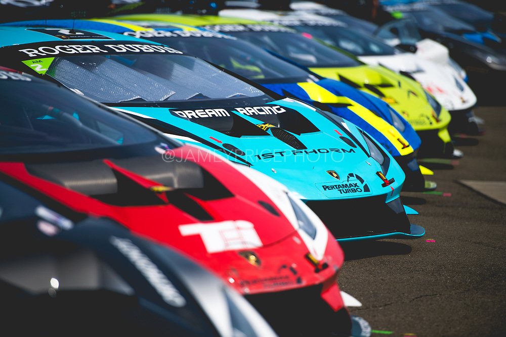 June 28 - July 1, 2018: Lamborghini Super Trofeo Watkins Glen. 2 Ryan Hardwick, Dream Racing, Motorsport, Lamborghini Atlanta, Lamborghini Huracan Super Trofeo EVO