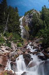 Spray Falls, Mt. Rainier National Park, Washington, US