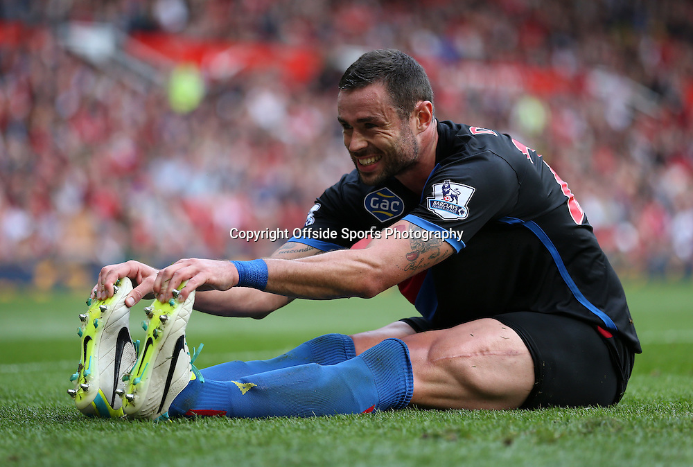 14th September 2013 - Barclays Premier League - Manchester United v Crystal Palace - Damien Delaney of Palace looks dejected - Photo: Simon Stacpoole / Offside.
