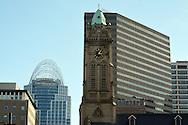 Sycamore Street views in Downtown Cincinnati in January 2014