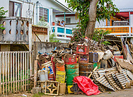 March 24, 2018, Toa Baja Puerto Rico, USA: Toa Baja, a municipality, located in the northern coast of Puerto Rico, 6 months after Hurricane Maria. Toa Baja was one of the hardest hit communities by Hurricane Maria.  Entire neighborhood was submerged.