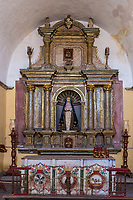 shrine in Santa Catalina monastery at Arequipa Peru