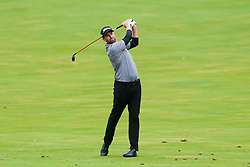 September 10, 2018 - Newtown Square, Pennsylvania, United States - Webb Simpson hits a fairway shot on the 18th hole during the final round of the 2018 BMW Championship. (Credit Image: © Debby Wong/ZUMA Wire)