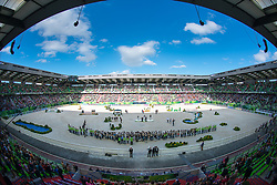 Arena - Jumping Eventing - Alltech FEI World Equestrian Games™ 2014 - Normandy, France.<br /> © Hippo Foto Team - Jon Stroud<br /> 31-08-14