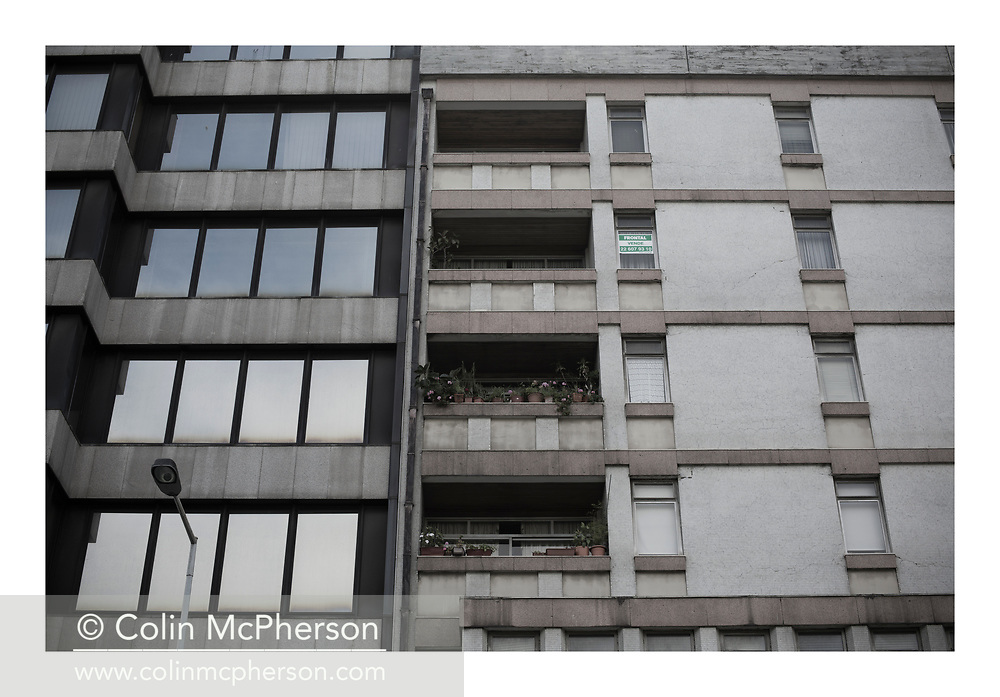'For sale, 2013', from 'The Recession Will Not Be Televised' by Colin McPherson, a body of photographic work which looks at the visual representation of the ongoing economic crisis in Porto, Portugal.<br />
