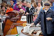 Lemmer, 20-06-2015 <br /> <br /> Princess Beatrix at her yacht Green Dragon  during a boat show of the foundation The flatbottomyachts.<br /> <br /> <br /> <br /> <br /> Royalportraits Europe/Bernard Ruebsamen
