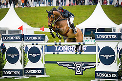 Whitaker Robert (GBR) - Catwalk IV<br /> Furusiyya FEI Nations Cup™ presented by Longines<br /> CSIO St. Gallen 2014<br /> © Hippo Foto - Katja Stuppia