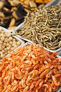 Fresh seafood at the Cijin Night Market on Cijin Island, Kaohsiung, Taiwan.