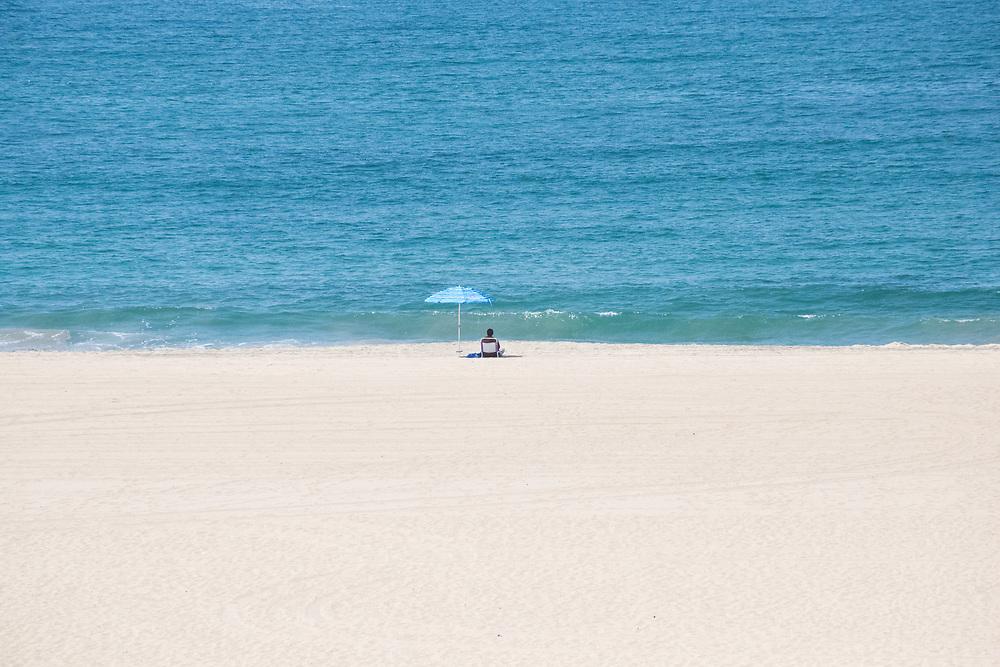 Beautiful summer beach day in El Segundo, CA 8.15.17