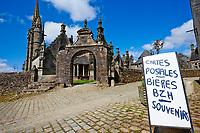 France, Finistère (29), enclos paroissial de Guimiliau // France, Briitany, Finistere, Guimiliau church
