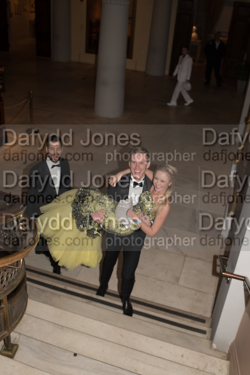 SLOAN DICKEY; ANDREA SCOTT, Great Gatsby(Presidential( Inaugural(Ball, National'Portrait'Gallery'&'Smithsonian'American'Art' Museum,, Inauguration of Donald Trump ,  Washington DC. 20  January 2017