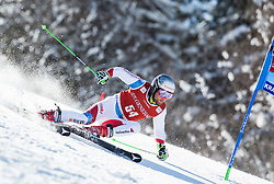 Manuel Pleisch (SUI) competes during 9th Men's Giant Slalom race of FIS Alpine Ski World Cup 55th Vitranc Cup 2016, on March 4, 2016 in Kranjska Gora, Slovenia. Photo by Vid Ponikvar / Sportida