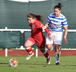 Paige Sawyer of Bristol City Women - Mandatory by-line: Paul Knight/JMP - Mobile: 07966 386802 - 14/02/2016 -  FOOTBALL - Stoke Gifford Stadium - Bristol, England -  Bristol Academy Women v QPR Ladies - FA Cup third round
