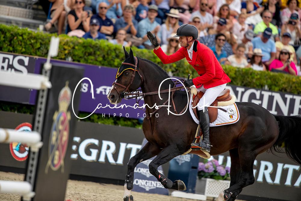 Guery Jerome, BEL, Quel Homme de Hus<br /> Longines FEI Jumping Nations Cup Final<br /> Challenge Cup - Barcelona 2019<br /> © Dirk Caremans<br />  06/10/2019